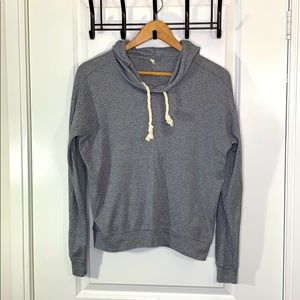 TNA Small Gray Sweater with Hood